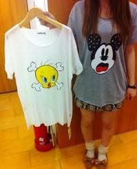 ジュエティ ミッキー&トゥイーティーTシャツ